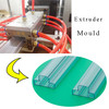 plastic extruder for IC packing tube , IC packing tube making extruder