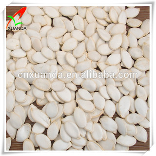 Different type of seeds pumpkin seeds snow white