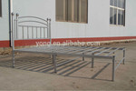 American Style Metal Double Bed, Wholesale Price