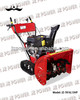 13HP Snow Track Thrower With Heated Handle,AC/DC Start