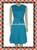 Women Clothing Belt Dress Fashion Gown