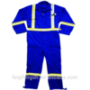 100% Cotton Reflective Safety Oil Field Coveralls/Work Overall/Mens Workwear/Factory Worker Uniform