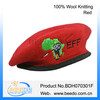 Womens felt berets wool red air force beret made in China