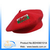 Wholesale beret fashion wool knitted beret hat