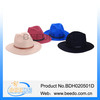 Handmade women wool felt hat wide brim mens fedora hats for women