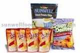 Low Temperature VF Sweet Potato Snacks