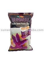 Low Temperature Vacuum Fried Purple Sweet Potato Chips