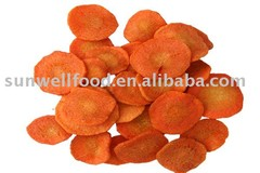 Low Temperature Vacuum Fried Carrot Chips(Healthy snacks)