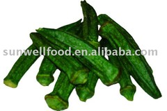 Low Temperature Vacuum Fried Okra Chips