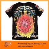100% Cotton T shirt sublimation