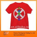 100% Cotton Tshirt Design With Traffic Lights