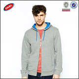China factory supply fashion plain hoodies men wholesale