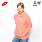 wholesale china factory plain pullover hoodies,fashion lady hoody