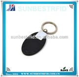 Rfid ABS keyfob special for access control system , support 125khz and 13.56Mhz
