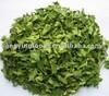 Dehydrated organic spinach-leaf