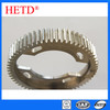 HETD brand Spur Gear C45 Material 1.5 module ground spur pinion gear cylindrical gears transmission parts SG5045