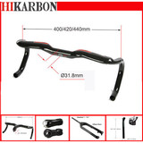 Carbon fiber handlebar for road racing bike