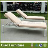 beautiful design aluminum folding webbed lawn chair chaise lounge