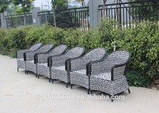 ding dong feng Garden outdoor table and chair Rattan table and chair outdoor table