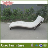 luxury hotel furniure fabric tall outdoor pool chaise lounge