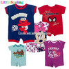 FREE SHIPPING IN STOCK cartoon design baby clothes wholesale price superman baby romper