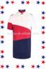 China Manufacturer Wholesale 100% Cotton Color Combination Polo T-shirt For Men