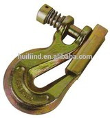 CLEVIS GRAB HOOKS WITH LATCHES