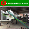 rotary carbonization kiln/rotary pyrolysis reactor with gasifier