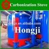 Turn waste into value biomass briquette charcoal kiln for sale