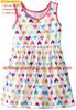 2015 Europe Korea design little girl baby clothes 1-6 years old flower baby girl summer dress
