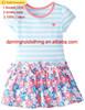 2015 flower girl dress of 9 years old baby girl wedding dress wholesale factory dress