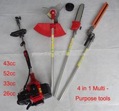 Multi Garden Tools 4 in 1 brush cutter hedge trimmer chain saw 7 in 1