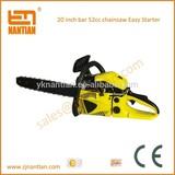 Gasoline wood cutting chain saw 5200 power 52cc