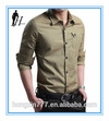 new designe man long-sleeved T-shirt made in China