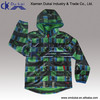 Children's overprinting softshell jacket with detatchable hood