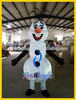 2015 snowman olaf mascot costume for adult