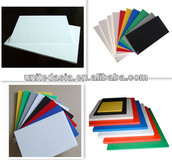 Colorful PVC Foam Sheet(1.0mm-30mm)