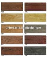 Vinyl wooden plank tiles
