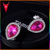 2015 New Hot Sale Crystal No Hole Earring