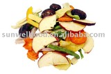 Low Temperture Vacuum Fried Mixed Vegetable &Fruit Chips