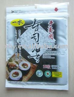 full sheet roasted seaweed,sushi nori---BLUE C