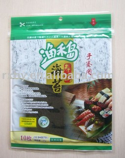 10 sheets 50sheets 100sheets packing Roasted seaweed Yaki sushi nori Toasted seaweed