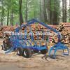 log loader trailer for tractor
