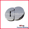 customized 90 degree glass purlin clamps