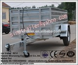 galvanized tipping trailer used in car trailer
