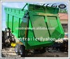 tractor hydraulic tandem tipping trailer