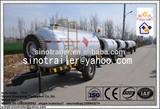 gasoline tank trailer fuel tanker trailer for tractor