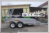 car trailer for excavator