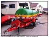 pto tractor water tank trailer