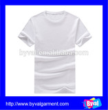 white plain t-shirts high quality custom t shirt factory price wholesale china manufacturer t shirts
